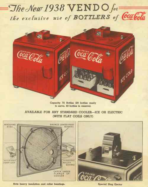 The Red Top Vendo Machine - Article 1938