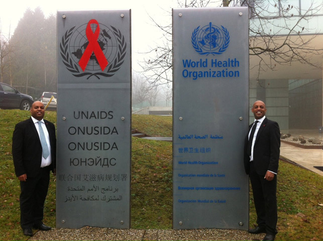 Antoine Health Care @ UNAIDS & WHO