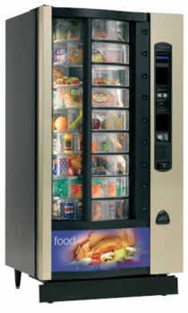 Crane Shopper 2 Vending Machine