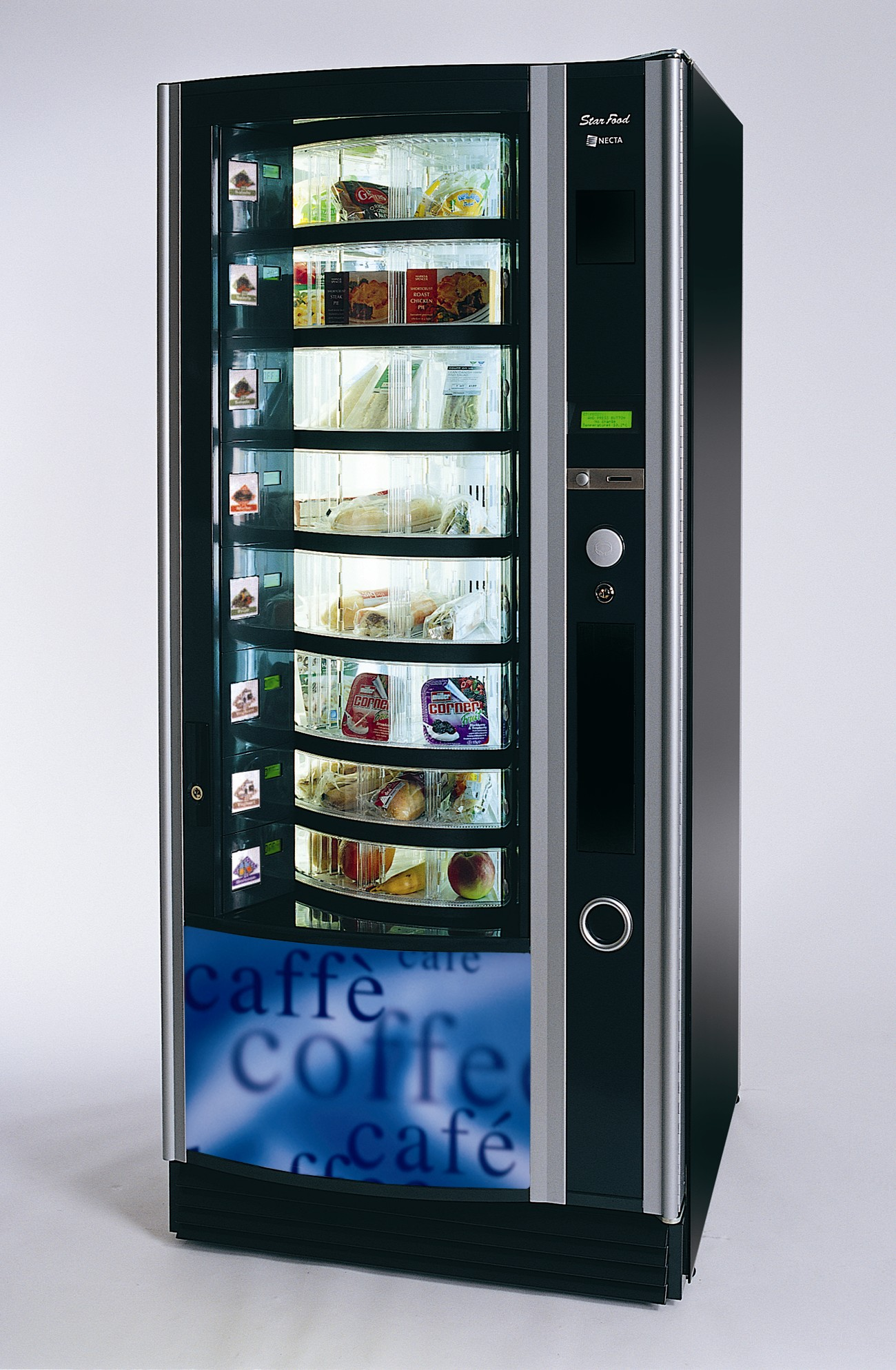 carousel vending machine
