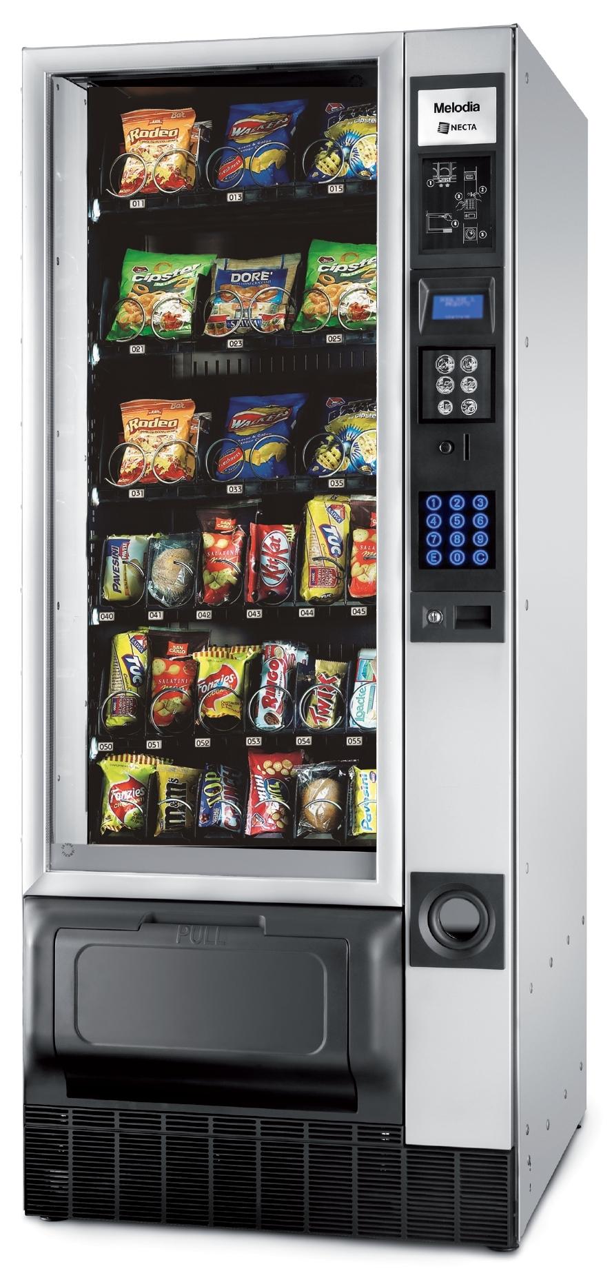 most popular vending machine snacks
