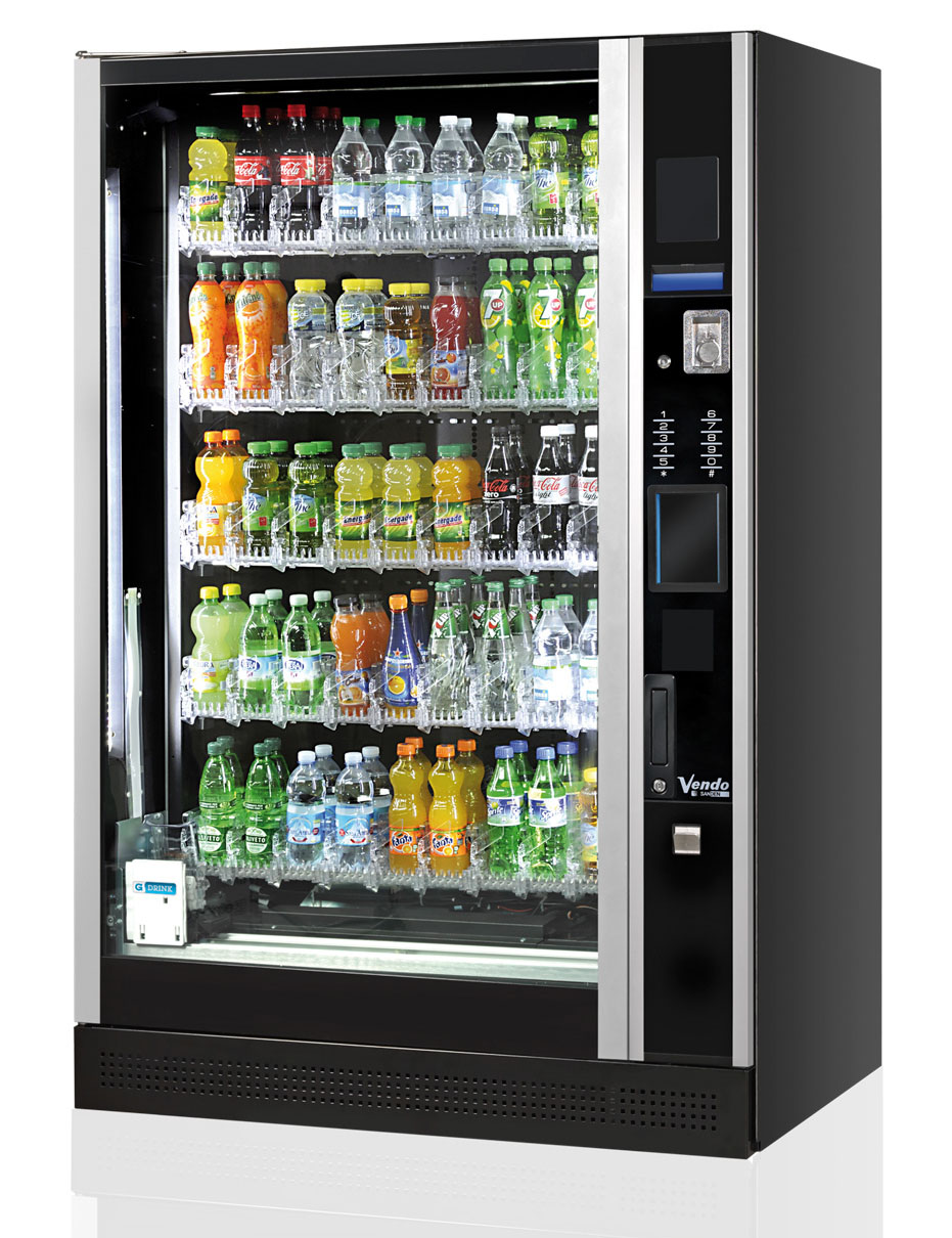 soft drink vending machine