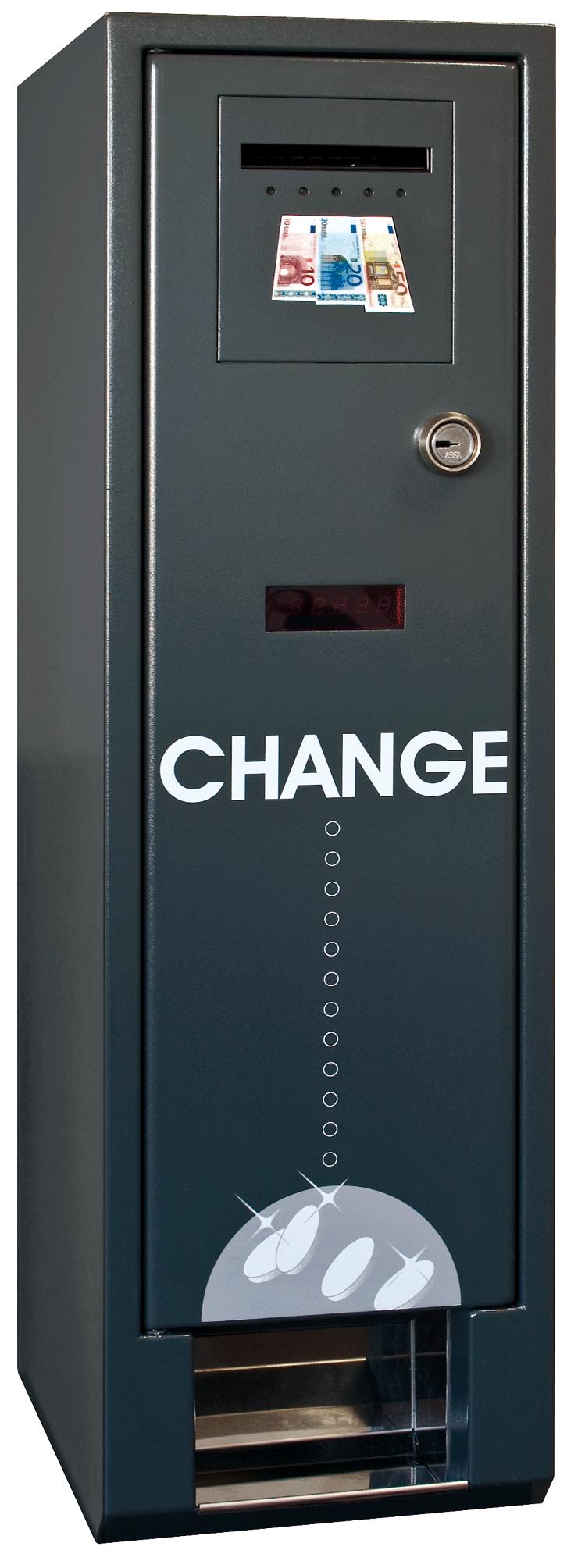 change coin machine