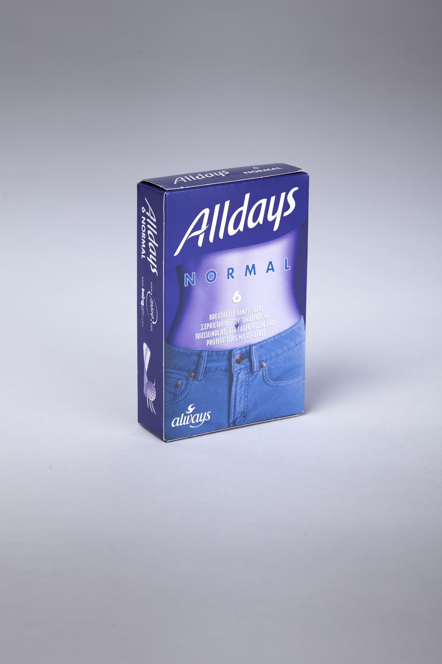 Always Alldays 6 Normal Liners