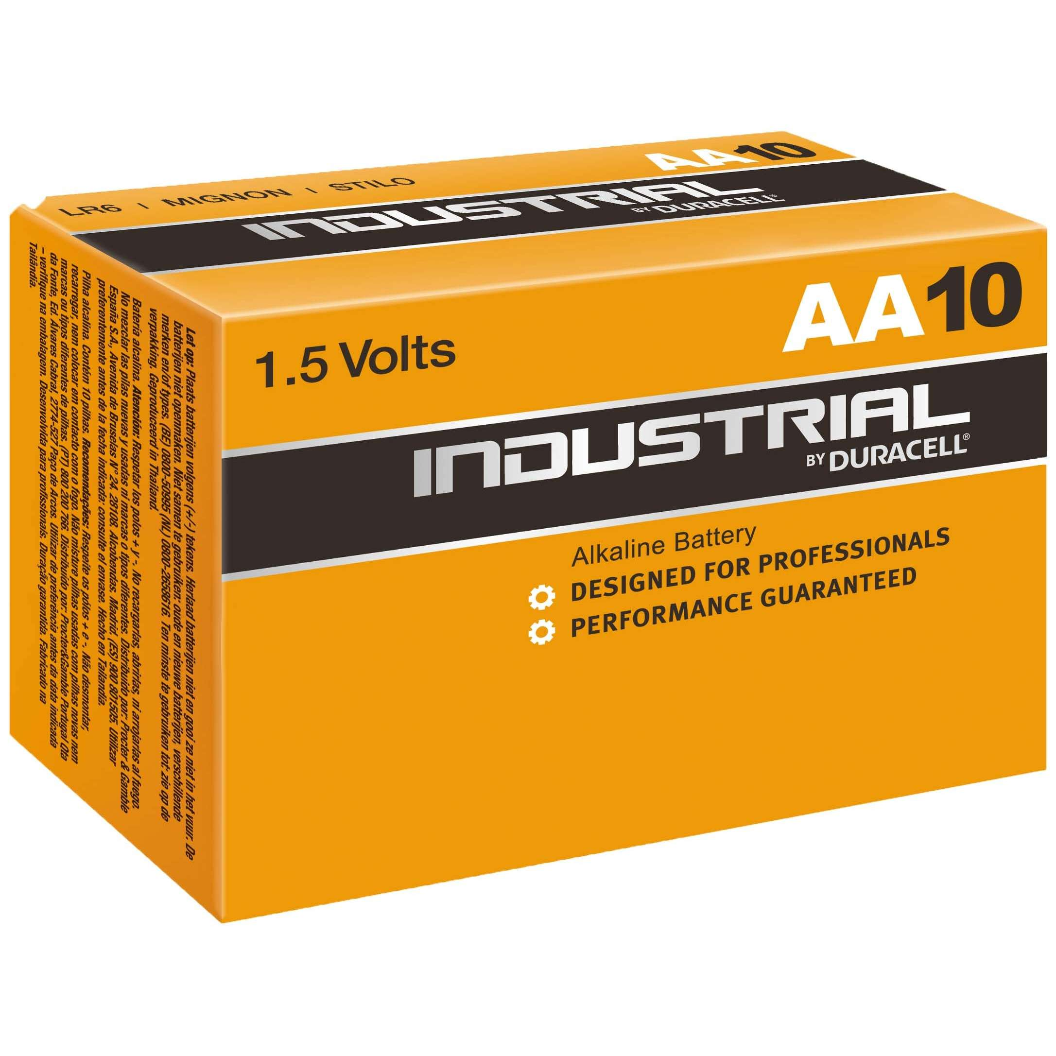 Duracell Industrial AA Battery (Box of 10)