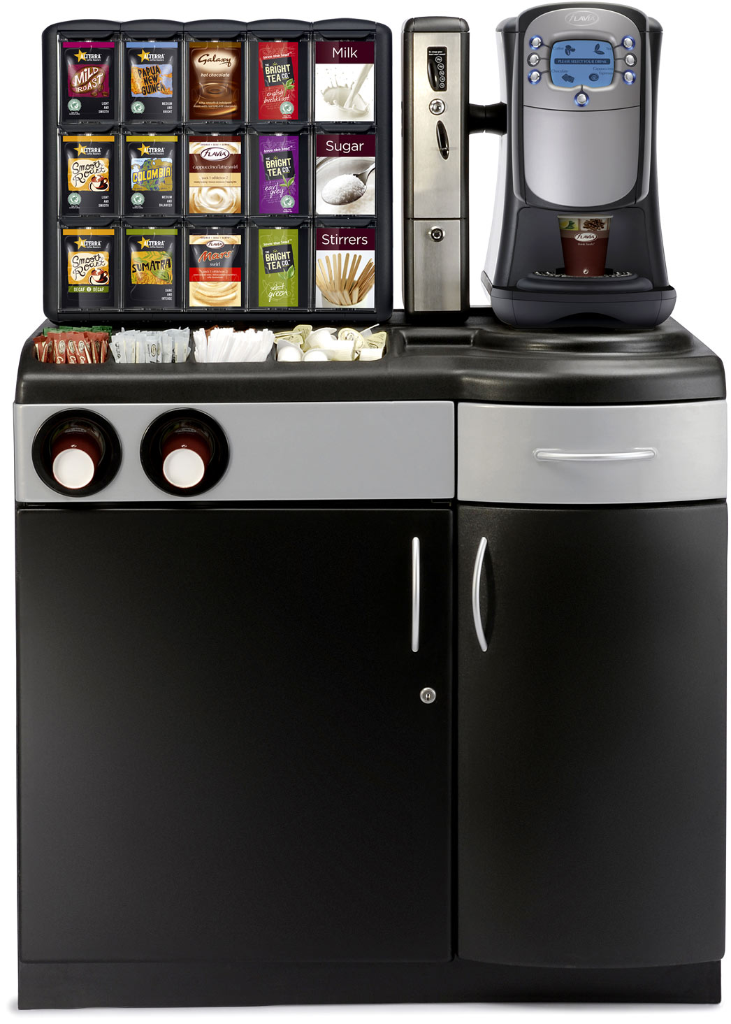 Flavia Coffee Maker How To Use : Flavia Creation 400 Machine (Titanium) - Flavia Machines - Intelligent Vending Ltd