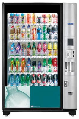 Bevmax Media 45 Select Soft Drinks Vending Machine