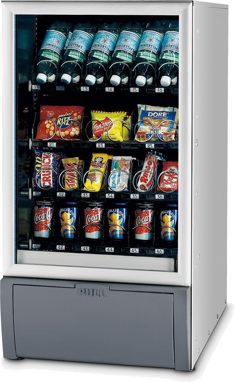 vending machine drinks and snacks