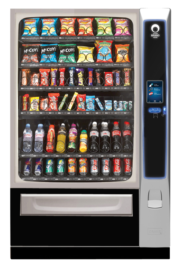 merchant media 6 vending machine combi vending snacks drinks intelligent vending ltd. Black Bedroom Furniture Sets. Home Design Ideas