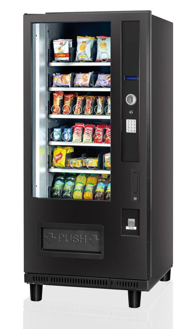 snack machine codes