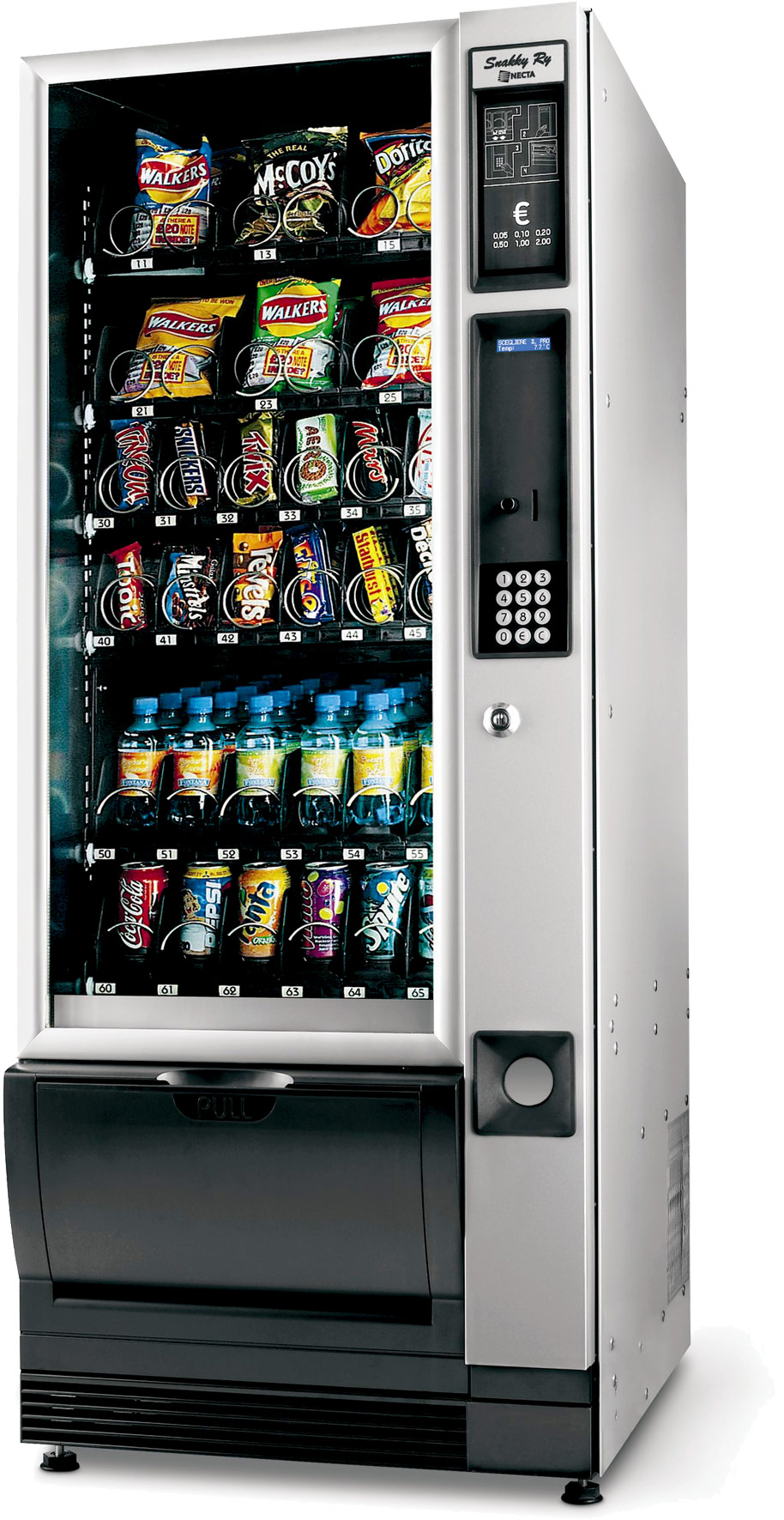 Snakky Combi Snacks Drinks Vending Machine Refurbished