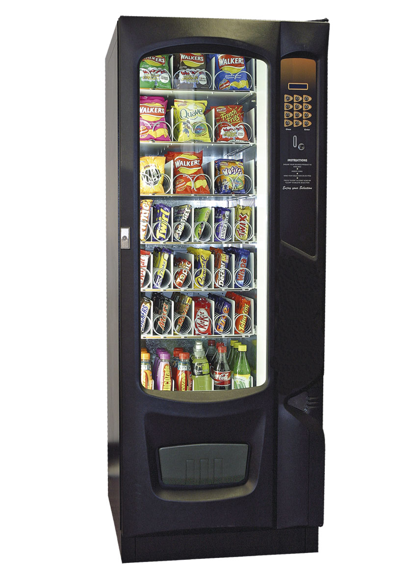 Snack Break Combi Snack Amp Drink Vending Machine Combi