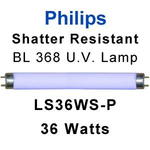 Philips Shatter Resistant 36w U.V. Lamp (LS36WS-P)