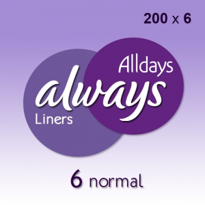 Always Alldays Liners