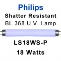 Philips Shatter Resistant 18w U.V. Lamp (LS18WS-P)