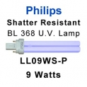 Philips Shatter Resistant 9w U.V. Lamp (LL09WS-P)