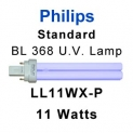 Philips 11w Fly Killer U.V. Lamp (LL11WX-P)