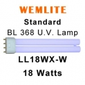 Wemlite 18w Fly Killer U.V. Lamp (LL18WX-W)