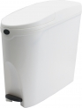 Lunar Sanitary Bin in White