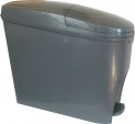 Lunar Sanitary Bin in Dark Grey