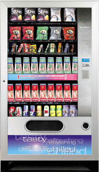 Westomatic SnackPoint Duo L Vending Machine (50 selections)
