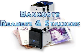 Banknote readers and stackers