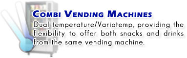 Combi Vending Machines
