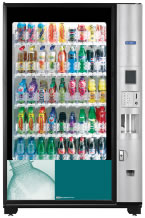 Crane BevMax 4 Soft Drinks Vending Machine