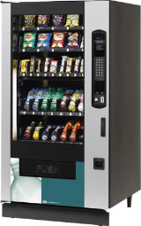 Crane Climate Combination Vending Machine