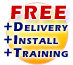Free Delivery, Installation & Training