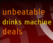 Great deals on drinks vending machines