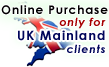 Online Purchase: UK Mainland Only