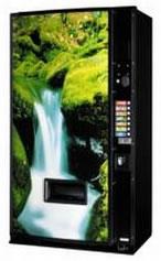 SandenVendo V 254-7 Soft Drinks Vending Machine