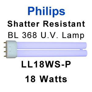 Philips 18w Shatter Resistant U.V. Lamp (LL18WS-P)