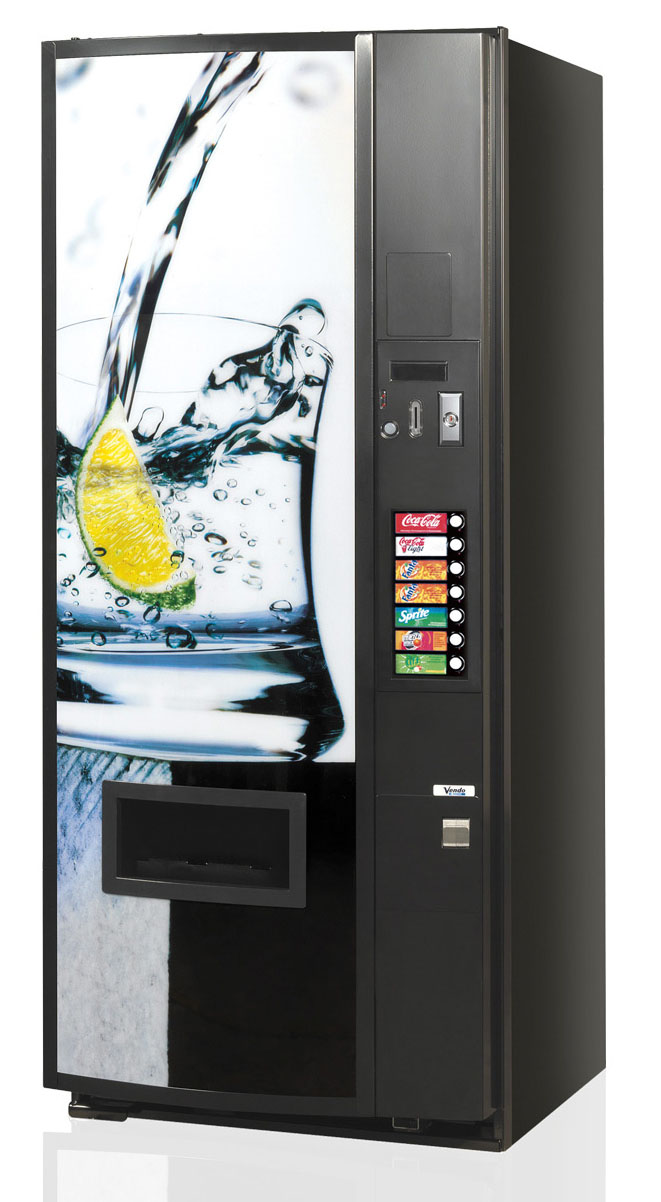 V-480 Soft Drinks Vending Machine Brochure