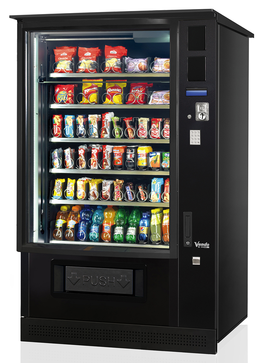 G-Snack SMX-OD Outdoor Vending Machine