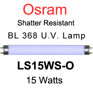 Osram LS15WS-O Shatter Resistant Lamp