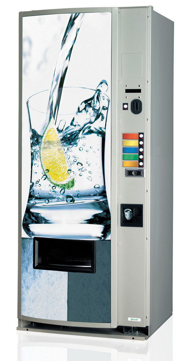 V 189 Soft Drinks Vending Machine (5 Selection) Closed