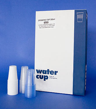 Plastic 7oz Water Cooler Cups (Polystyrene)
