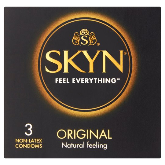Mates Skyn Original Condoms (3 Pack)
