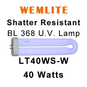 40w Fly Killer UV Lamp: LT40WS-W