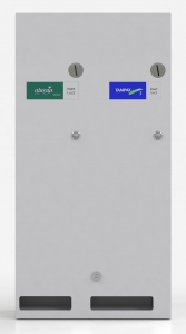 DuoVend Steel / White Washroom Vending Machine Package