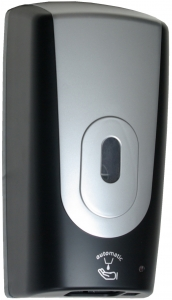 Lunar Automatic Foam Soap Dispenser Black & Silver
