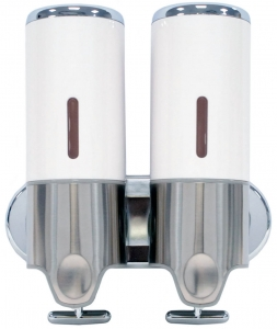 Lunar Dual Soap Dispenser (White)