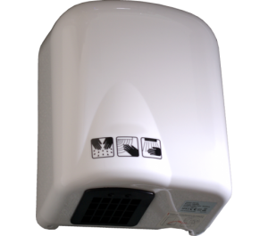 Magnum Standard 1650w hand dryer in White ABS