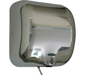 Magnum Master 1300w hand dryer in Polished Stainless