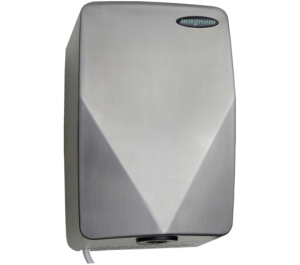 Magnum Crystal Hand Dryer (Grained Stainless)