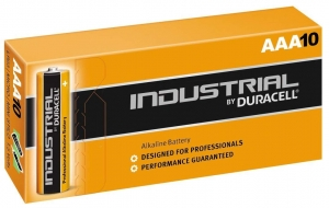 Duracell Industrial AAA Batteries (Box of 10)