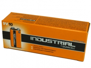 Duracell Industrial PP3 Cell 9v Batteries (Box of 10)